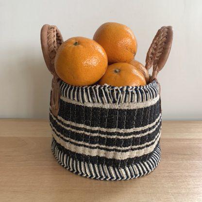 Jute Round fruit basket